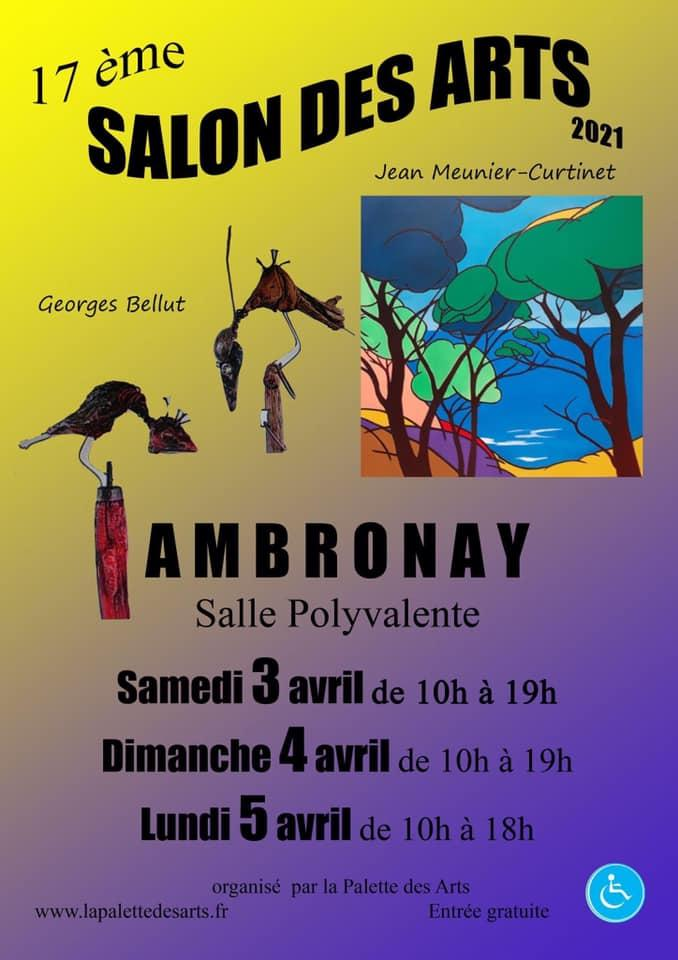 17e salon des arts ambronay 2021