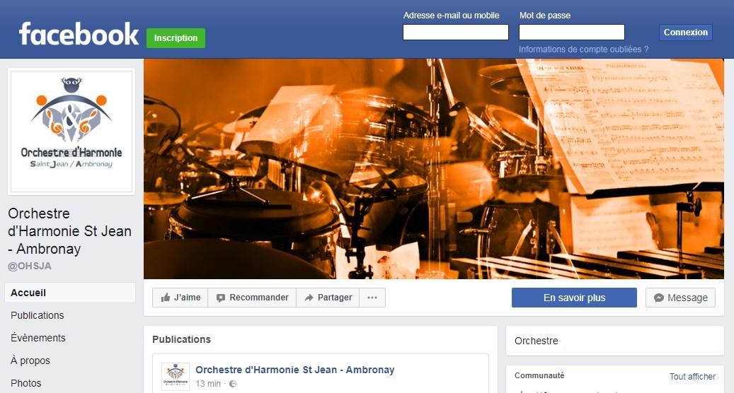 Facebook de l'OHSJA