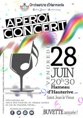 Affiche apero concert ohsja 28 juin 2019 v2605201919h59