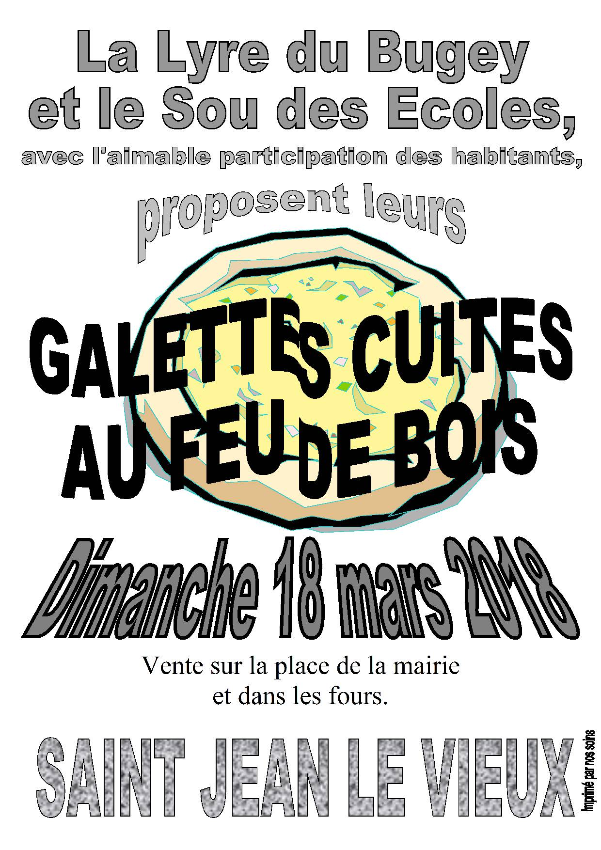 Affiche galettes mars 2018