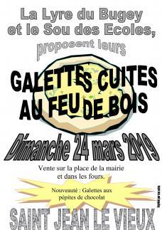 Affiche galettes ohsja 24 mars 2019