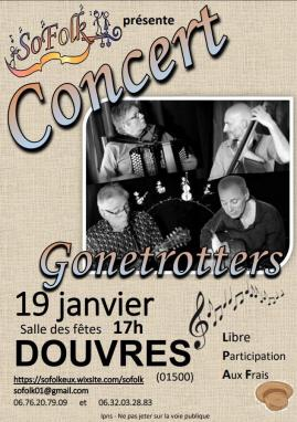 Affiche gonetrotters