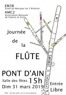 Affiche journee flute 31 03 2019