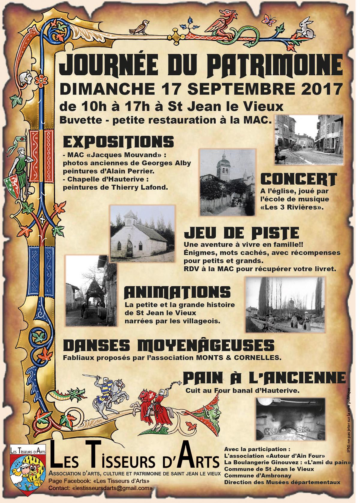 Affiche journee patrimoine 2017 web