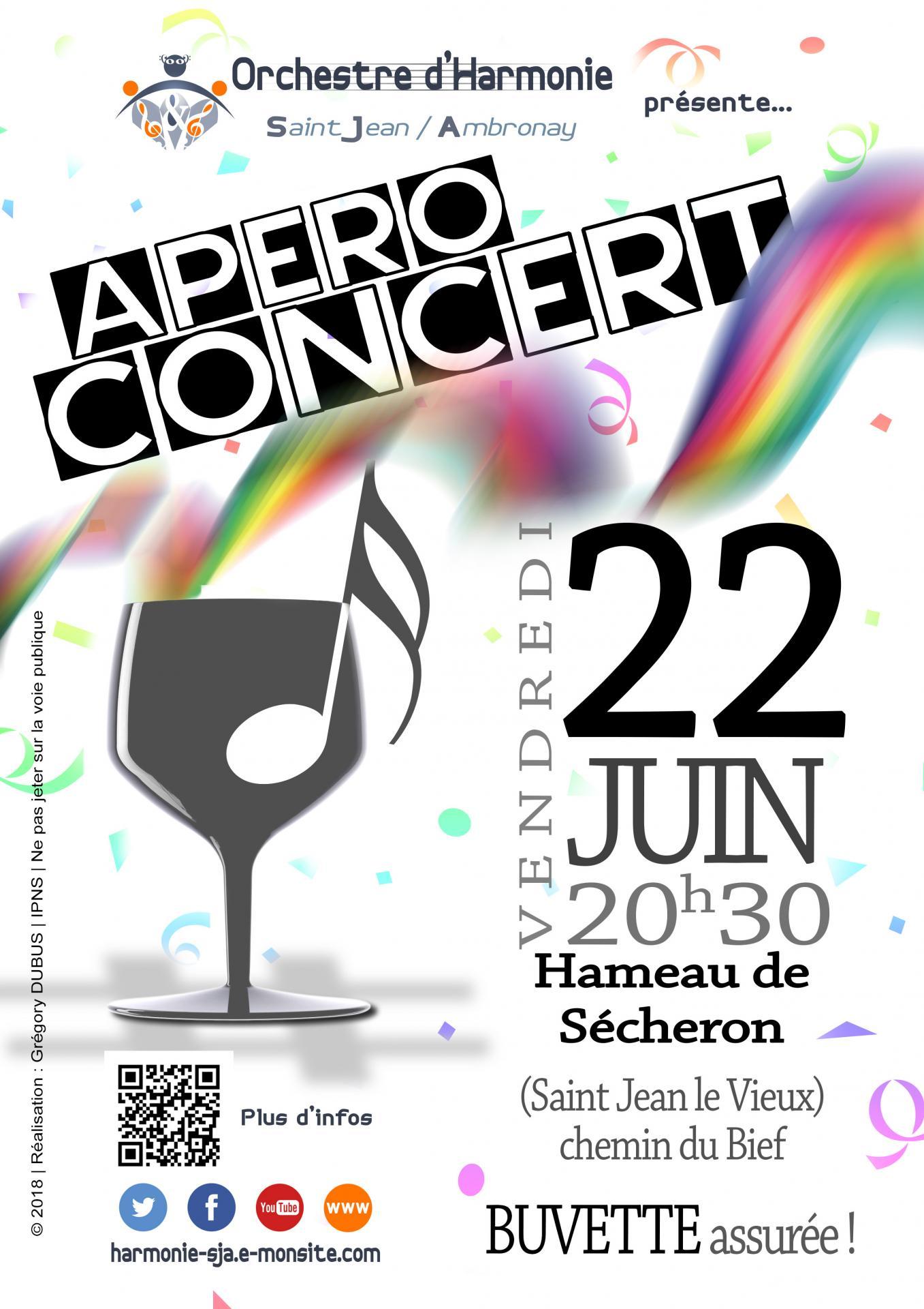 Apéro-Concert le 22 juin 2018