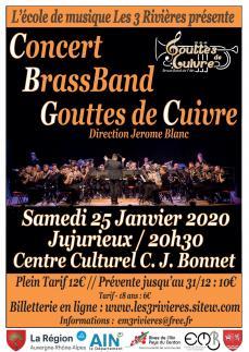 Concert gouttes de cuivres par l em3r 25 janvier 2020 v0811201915h40