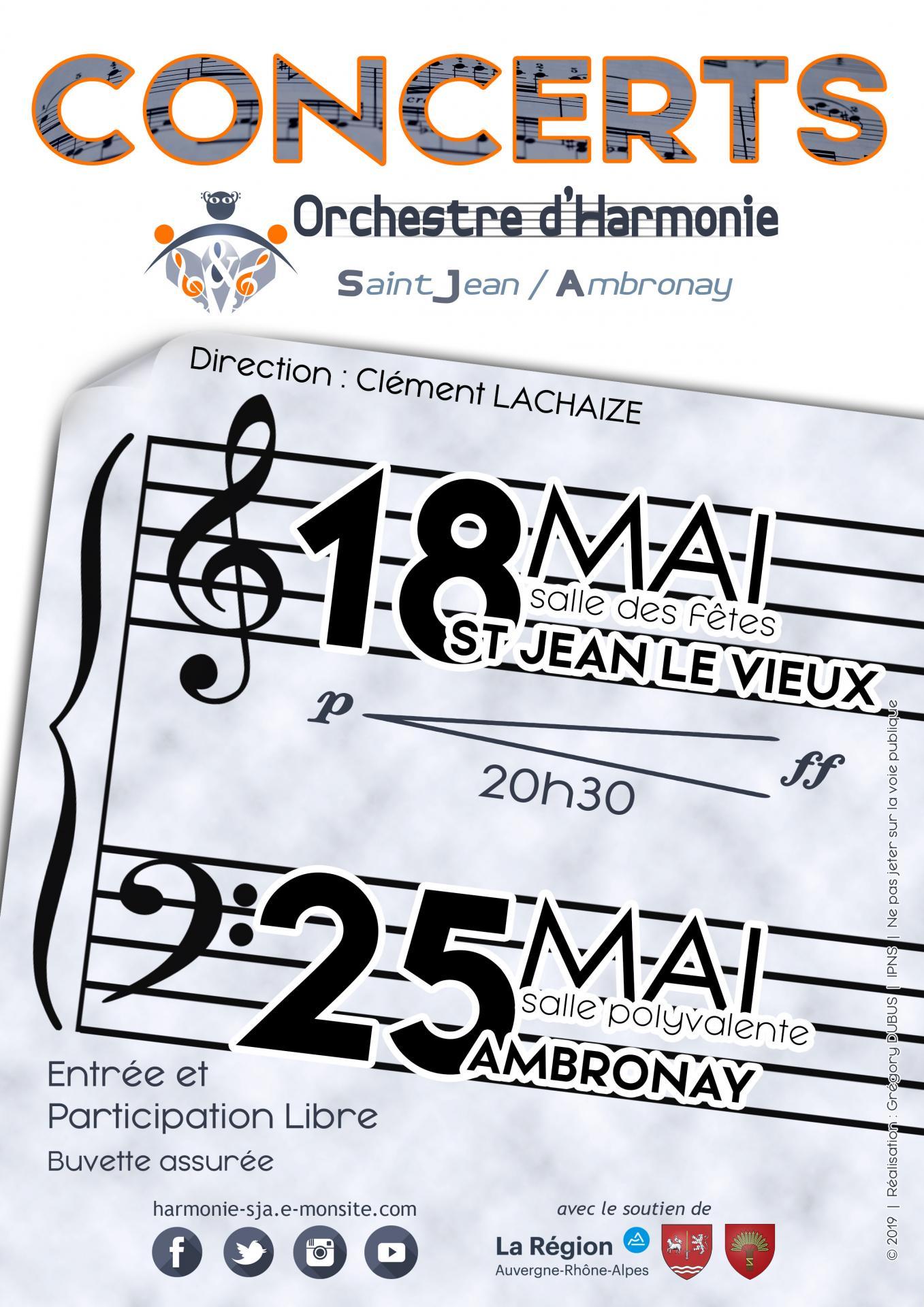 Concert de l'OHSJA à Ambronay le 25 mai 2019