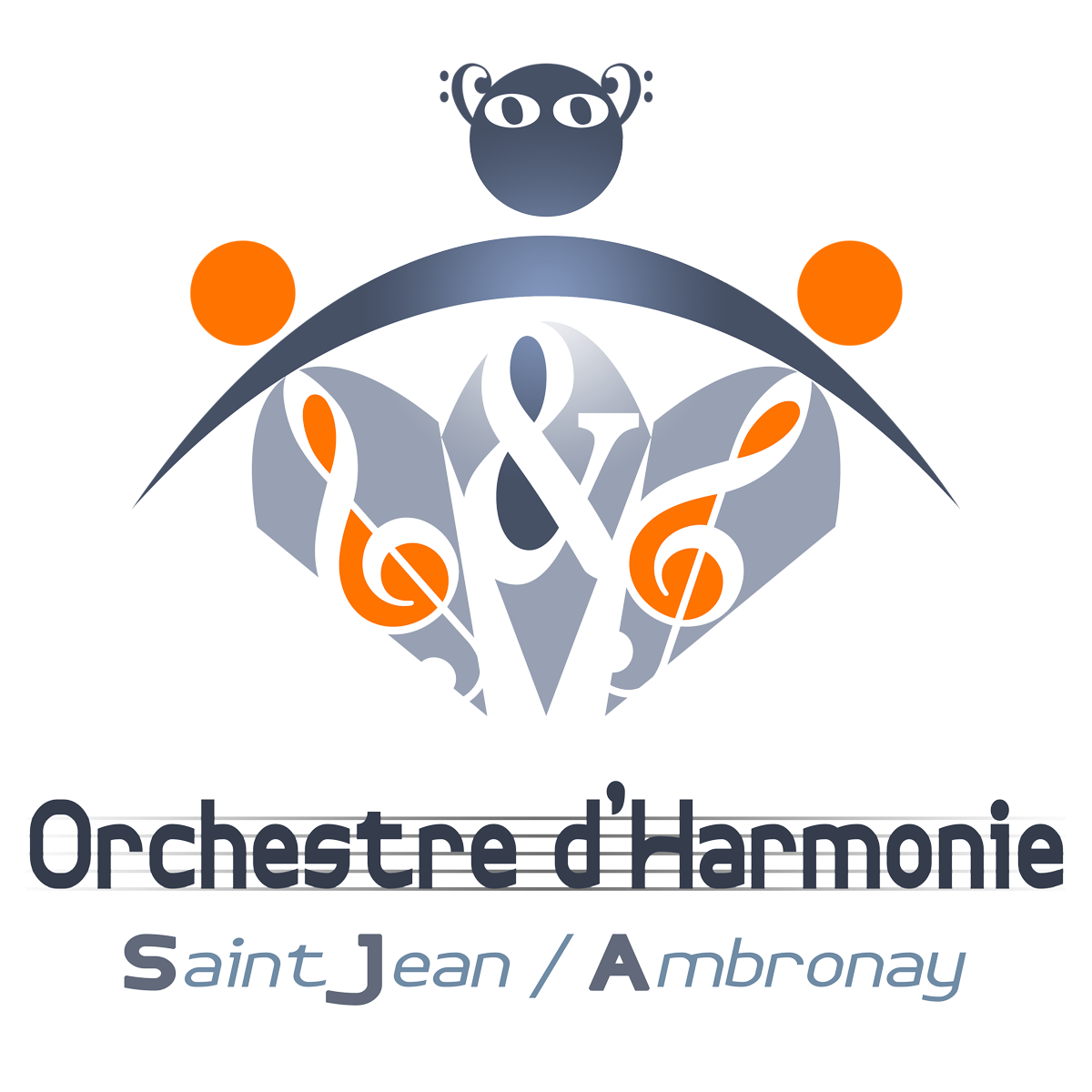 Logo harmonie carre png